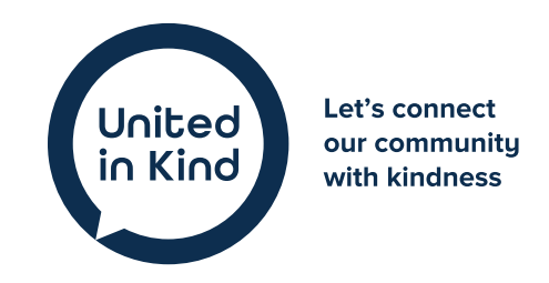 Master logo for the United in Kind movement